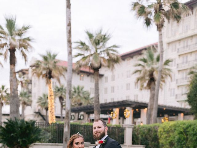 Aryssa and Taylor's Wedding in Galveston, Texas 68