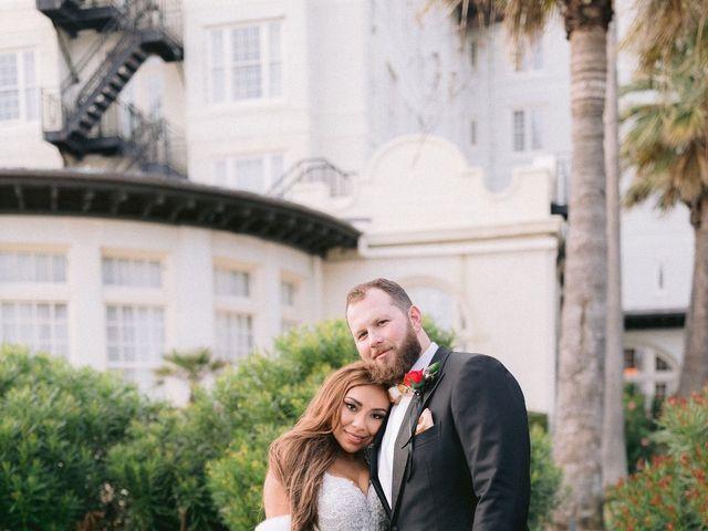 Aryssa and Taylor's Wedding in Galveston, Texas 69