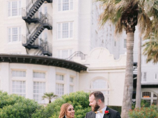 Aryssa and Taylor's Wedding in Galveston, Texas 70