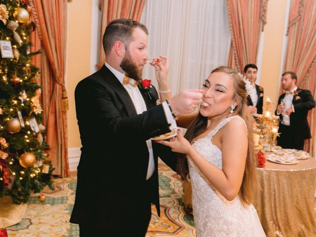 Aryssa and Taylor's Wedding in Galveston, Texas 86