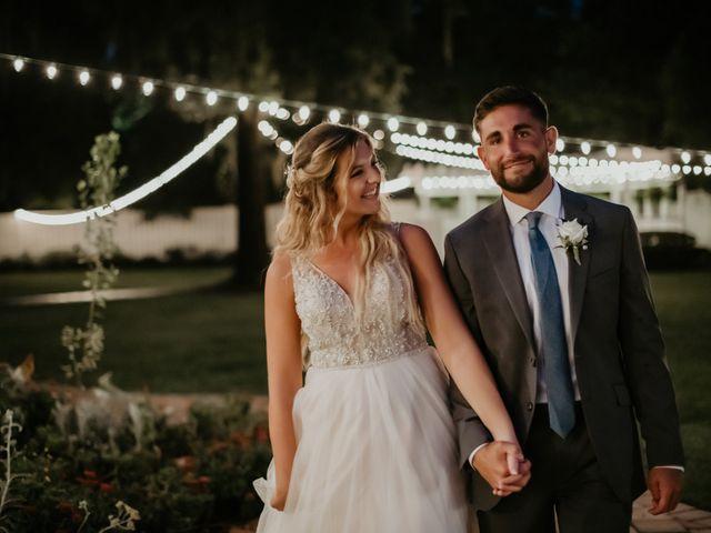The wedding of Lexa and Tyson