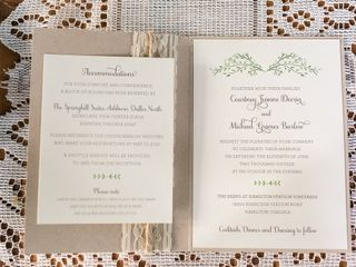The wedding of Michael and Courtney 2