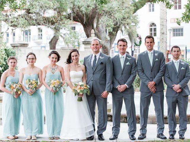 Amanda and Mark's Wedding in Saint Augustine, Florida 8