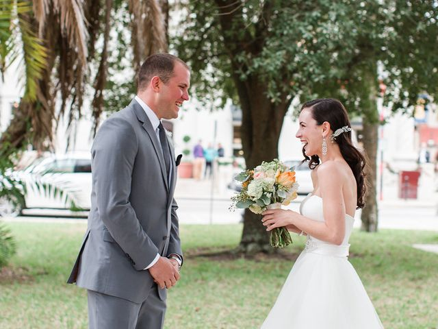 Amanda and Mark's Wedding in Saint Augustine, Florida 9