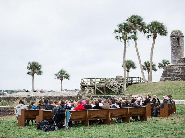 Amanda and Mark's Wedding in Saint Augustine, Florida 12