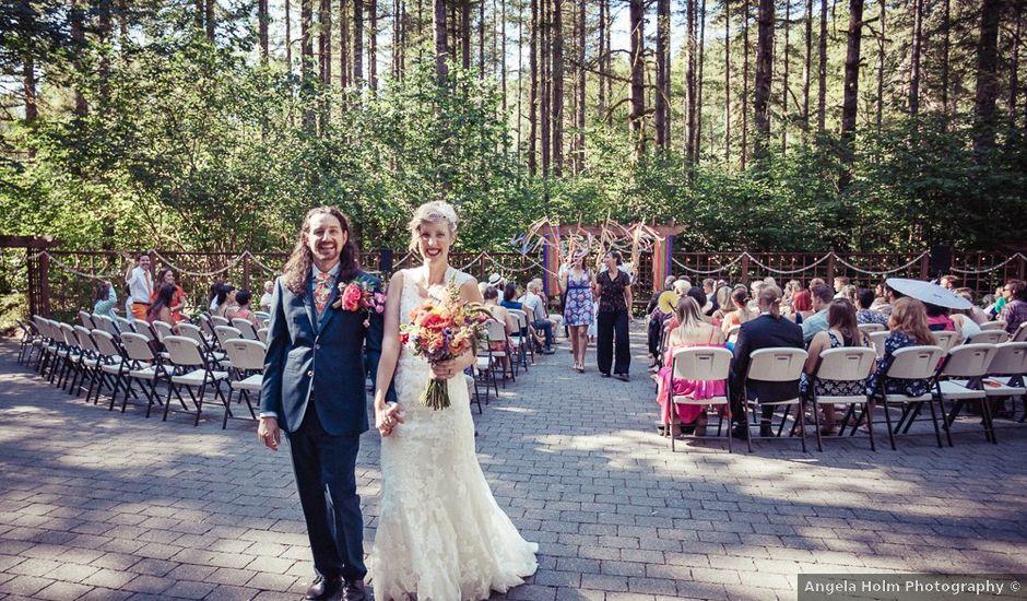 Carissa and Jeremy's Wedding in Ariel, Oregon