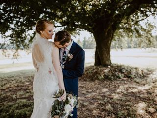 The wedding of Tiffany and Evan