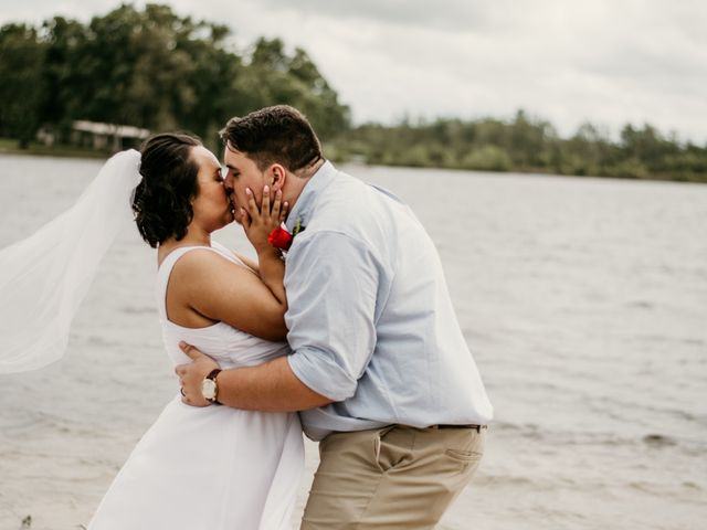 The wedding of Lia and Matt