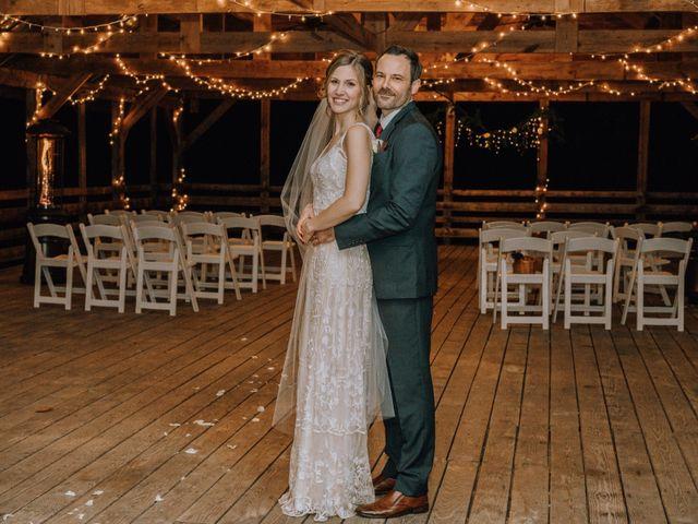 Brayn and Mandi's Wedding in Elkin, North Carolina 3