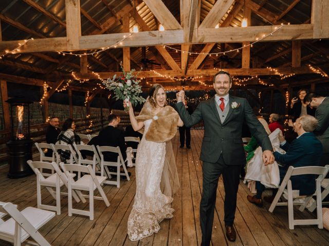 Brayn and Mandi's Wedding in Elkin, North Carolina 5