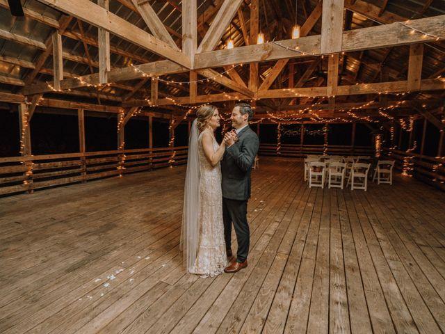 Brayn and Mandi's Wedding in Elkin, North Carolina 8