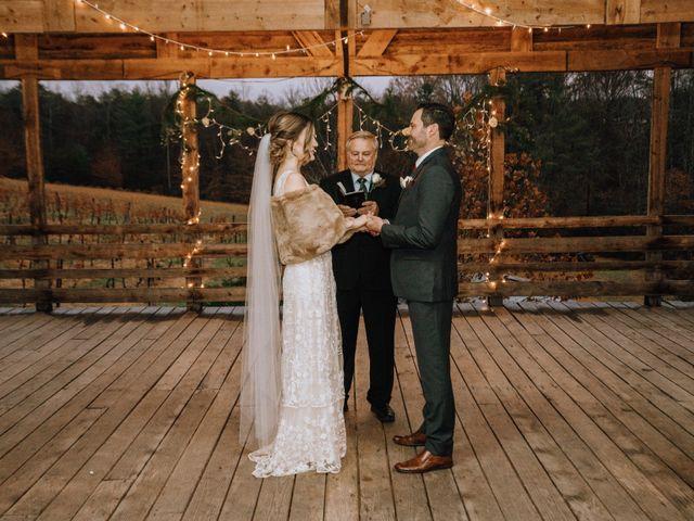 Brayn and Mandi's Wedding in Elkin, North Carolina 16