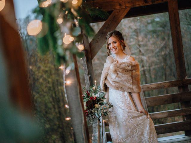 Brayn and Mandi's Wedding in Elkin, North Carolina 17