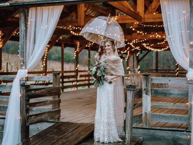 Brayn and Mandi's Wedding in Elkin, North Carolina 18