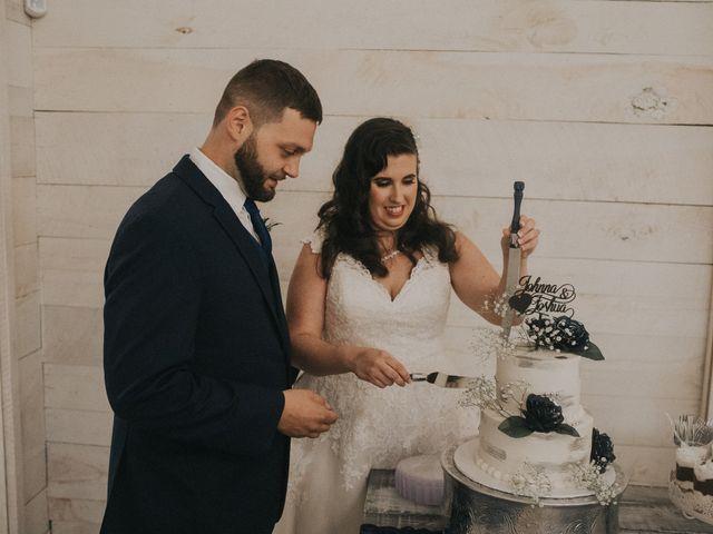 Josh and Johnna's Wedding in Beechgrove, Tennessee 5