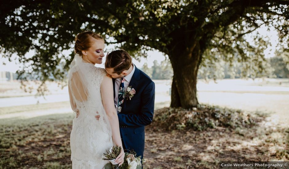 Evan and Tiffany's Wedding in Pikeville, North Carolina