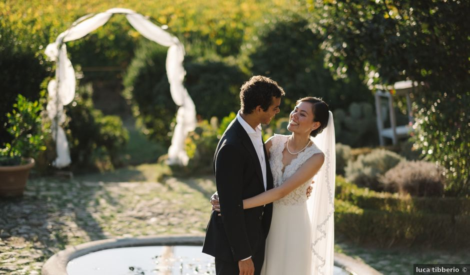 Brandon and Aileen's Wedding in Tuscany, Italy
