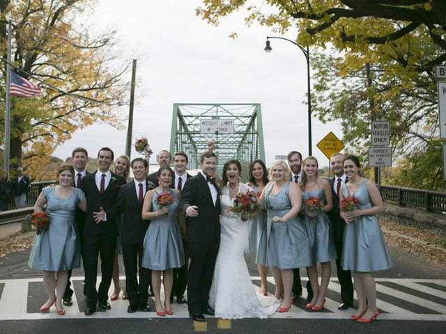 Dana and Jesse's Wedding in Lambertville, New Jersey 9