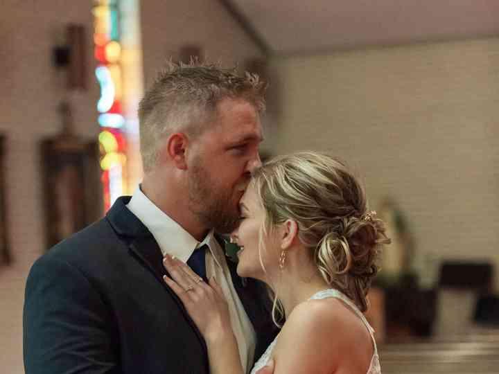 The wedding of Elizabeth and Slater