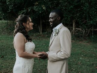 The wedding of Whitney and Lloyd