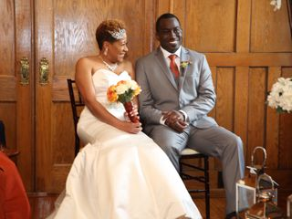 The wedding of Brandi Taylor and Rico Taylor