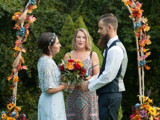 The wedding of Megan and John 1