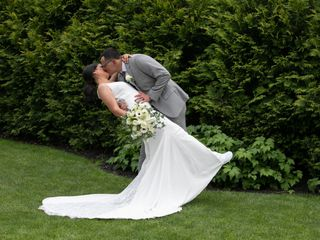 The wedding of Annelyse and Christopher