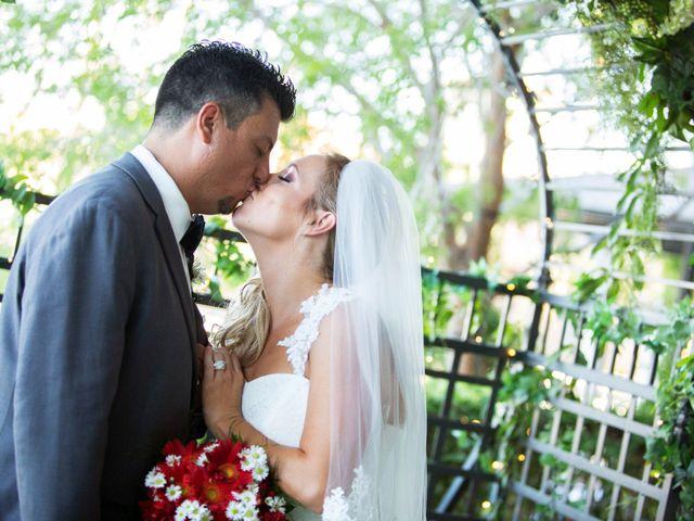 The wedding of Lenora and Jason