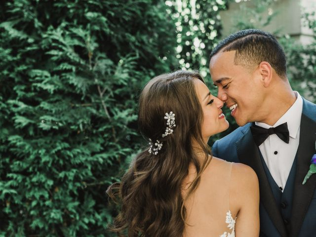 The wedding of Melissa and Kristian
