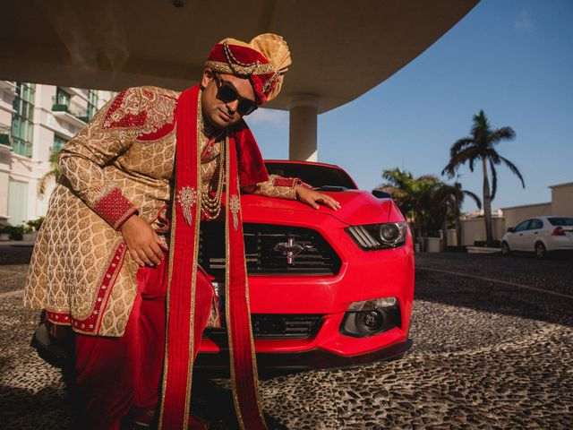 Rikesh and Pooja's Wedding in Cancun, Mexico 17