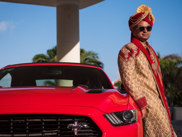 Rikesh and Pooja's Wedding in Cancun, Mexico 19
