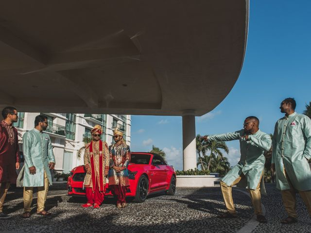 Rikesh and Pooja's Wedding in Cancun, Mexico 20