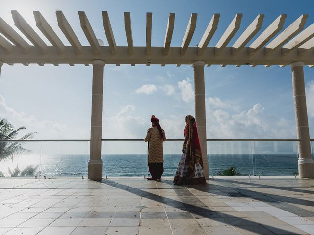 Rikesh and Pooja's Wedding in Cancun, Mexico 24