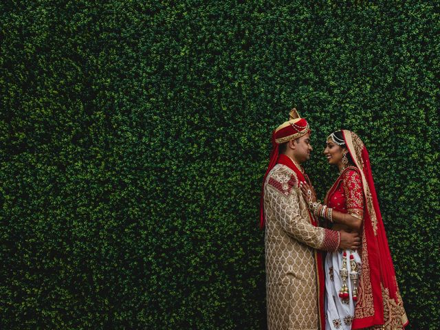 Rikesh and Pooja's Wedding in Cancun, Mexico 28