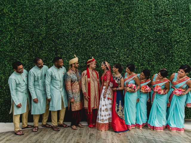 Rikesh and Pooja's Wedding in Cancun, Mexico 29
