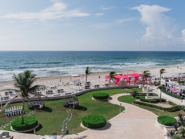Rikesh and Pooja's Wedding in Cancun, Mexico 31