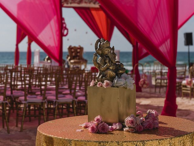 Rikesh and Pooja's Wedding in Cancun, Mexico 32