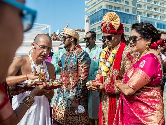 Rikesh and Pooja's Wedding in Cancun, Mexico 38