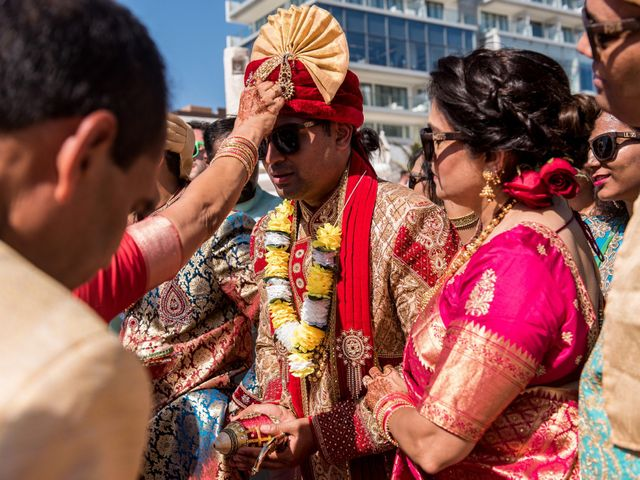 Rikesh and Pooja's Wedding in Cancun, Mexico 39