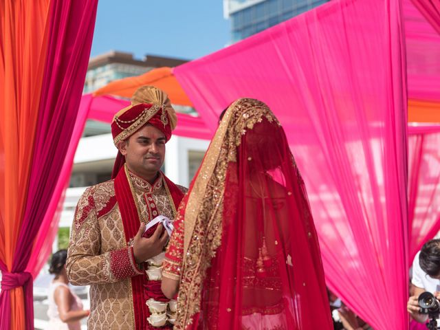 Rikesh and Pooja's Wedding in Cancun, Mexico 49