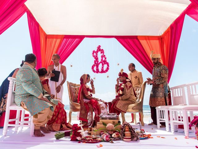 Rikesh and Pooja's Wedding in Cancun, Mexico 51