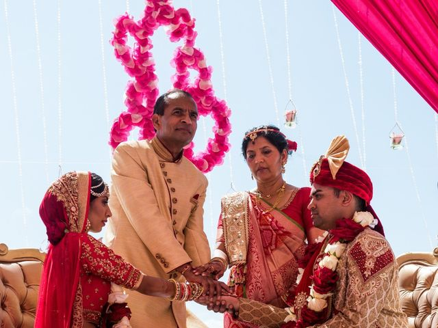 Rikesh and Pooja's Wedding in Cancun, Mexico 52