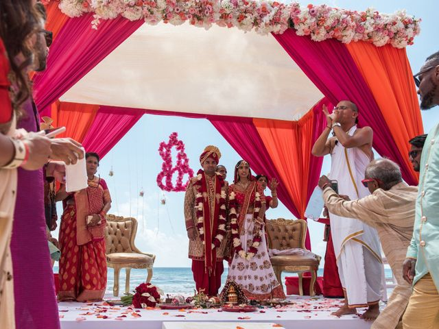 Rikesh and Pooja's Wedding in Cancun, Mexico 57