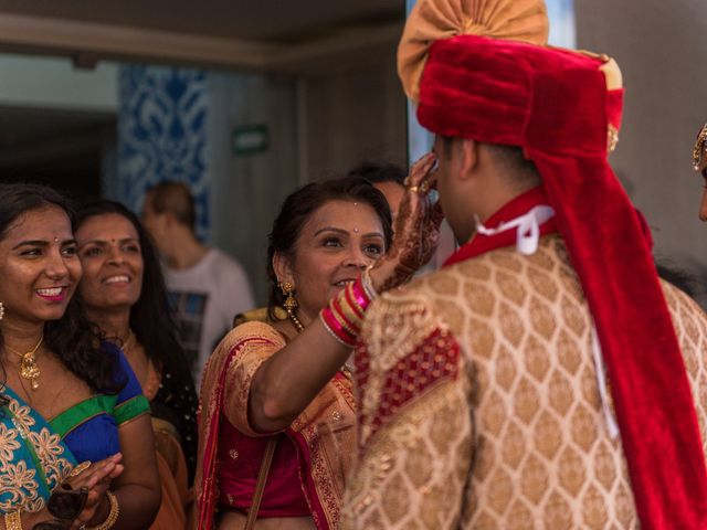 Rikesh and Pooja's Wedding in Cancun, Mexico 61