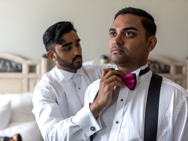 Rikesh and Pooja's Wedding in Cancun, Mexico 75