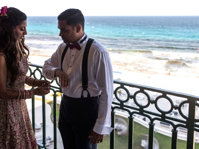 Rikesh and Pooja's Wedding in Cancun, Mexico 81
