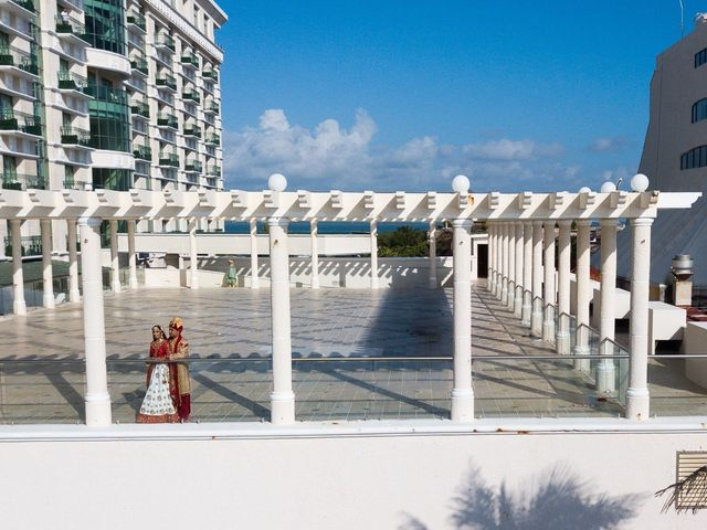 Rikesh and Pooja's Wedding in Cancun, Mexico 122