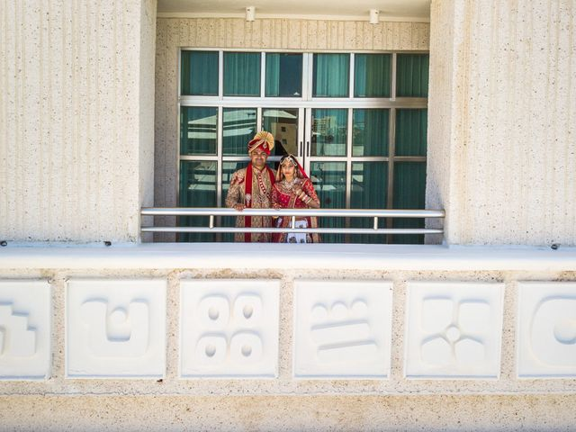Rikesh and Pooja's Wedding in Cancun, Mexico 124