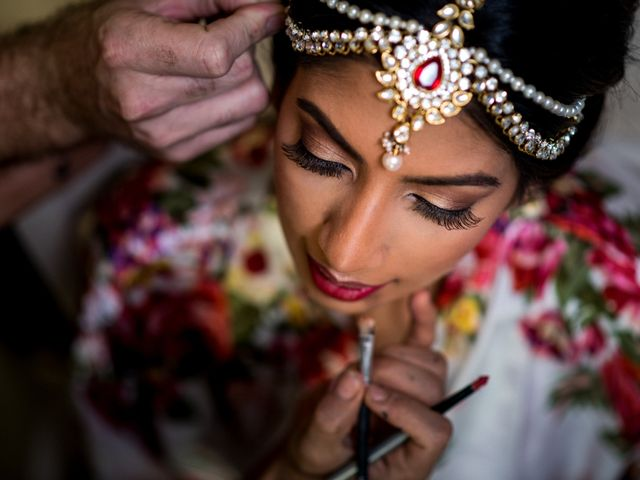 Rikesh and Pooja's Wedding in Cancun, Mexico 139
