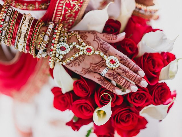 Rikesh and Pooja's Wedding in Cancun, Mexico 161